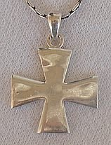 Cross pattée silver