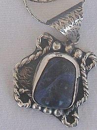 Wild natural lapis pendant-HMP18