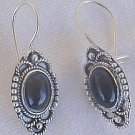 Mini onyx oriental earrings