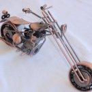 Decorative copper motorcycle B