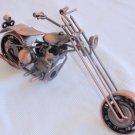 Decorative copper motorcycle B