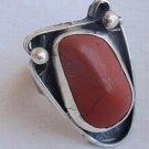 Natural blood stone ring LG