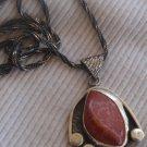 Blood stone pendant hand made MT16