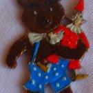 Metal miniature teddy bear children stories