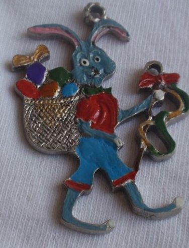 Metal miniature Bunny children figure