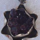 Amethyst crystal handmade pendant