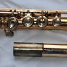 Haynes 14K Gold flute