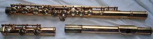 Haynes 14K Gold flute