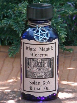 Solar God Ritual/Natural Perfume Oil - White Magick Alchemy