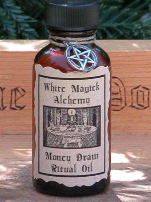 Money Draw Ritual/Natural Perfume Oil - White Magick Alchemy