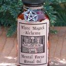 Mental Focus Ritual/Natural Perfume Oil - White Magick Alchemy