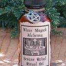 Stress Relief Ritual/Natural Perfume Oil - White Magick Alchemy