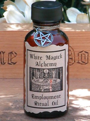 Employment Ritual/Natural Perfume Oil - White Magick Alchemy