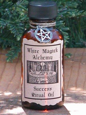 Success Ritual Natural Perfume Oil - White Magick Alchemy