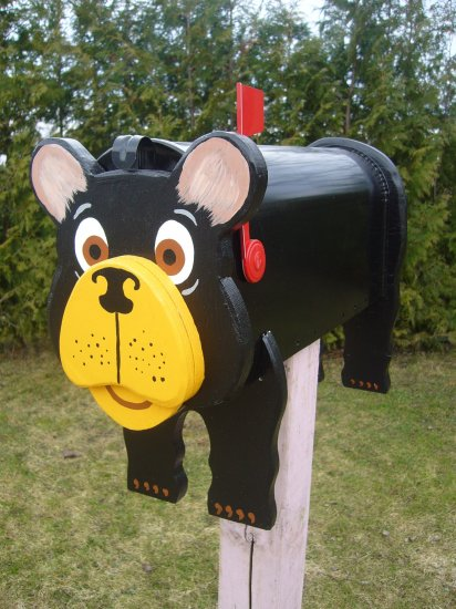 Mailboxes - Black Bear mailbox