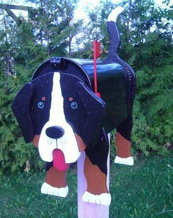 MAILBOXES - BERNESE MAILBOX