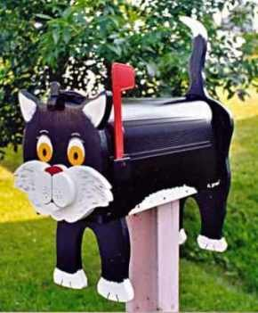 MAILBOXES - Black Cat Mailbox