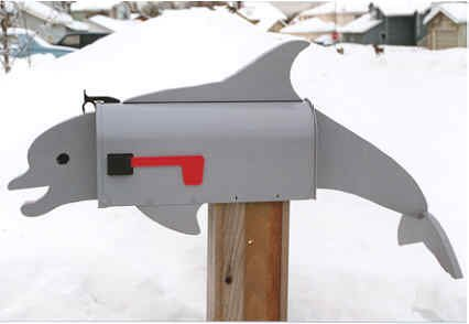 MAILBOXES - DOLPHIN MAILBOX