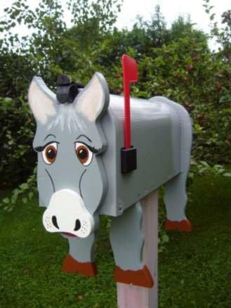 MAILBOXES - Donkey mailbox