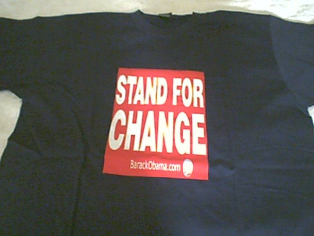 Obama Stand for Change Limited Edition 01