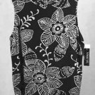 Vikki Vi Slinky Black White Tank Top Shell Plus Size 1X