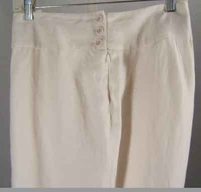 Ralph Lauren Linen Cream Pants Lined Plus Size 16W