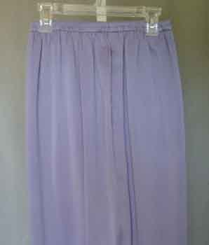 Eileen Fisher Silk Charmeuse Pants Lavender Plus Size 3X