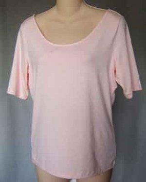 Ralph Lauren Pullover Stretch Top Pink Size M