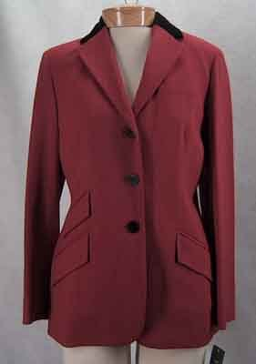 Ralph Lauren Bolero Red Black  Blazer Jacket Size 8