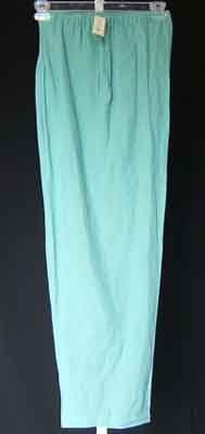 NEXX Woman Silk Linen Teal Pants Trousers Plus Size 3X