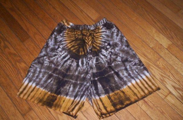 Tye - Dye Cotton Shorts