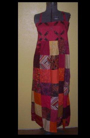 Summer Fire patchwork Dress