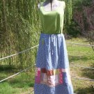 Earth Mama Random Patchwork Skirt