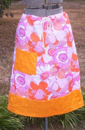 Retro Flowers Skirt
