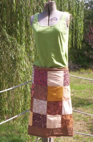 Earth Mama Patchwork Apron