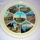 San Francisco tin photographic souvenir tray vintage 1011vf