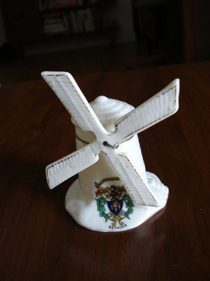 Arcadian Crest china windmill Methven Arkinstall Sons antique 1047vf