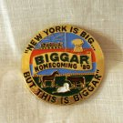 New York is big but this is Biggar Homecoming 1980  pin vintage 1124vf