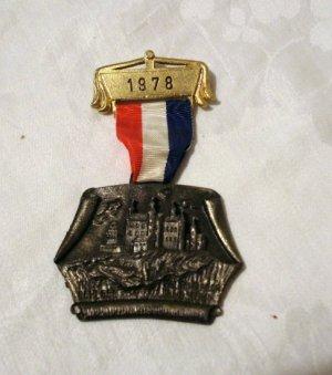 1978 Gold Medal International Volksmarsch Schloss Landstuhl 1145vf