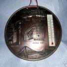 San Francisco coppertone souvenir thermometer cable car vintage 1189vf