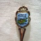 Republic of Cyprus souvenir spoon vintage excellent condition 1243vf