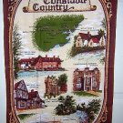Constable country souvenir tea towel very British Clive Mayor vintage 1313vf