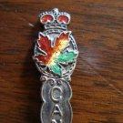 Nanaimo BC Canada sterling silver souvenir spoon vintage 1341vf