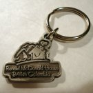 Ronald McDonald House souvenir key ring pewter British Columbia 1348vf