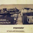 Gruss aus Rorschach Imperator Stahlheizkessel promotional hanky vintage1369vf