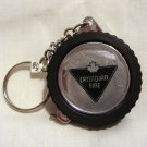 Canadian Tire advertising key chain tire holds tape measure pre-owned 1429vf