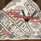 Trev Deeley's1994 Harley-Davidson Turkey Run cotton bandanna vintage 1450vf