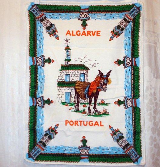 Algarve Portugal souvenir towel all cotton great vintage 1452vf