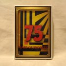 Rogers 75 Years of Progress playing cards 1933-2008 plastic coated poker preowned 1492vf