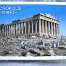 Acropolis Athens souvenir postcard booklet color pre-owned perfect 1515vf